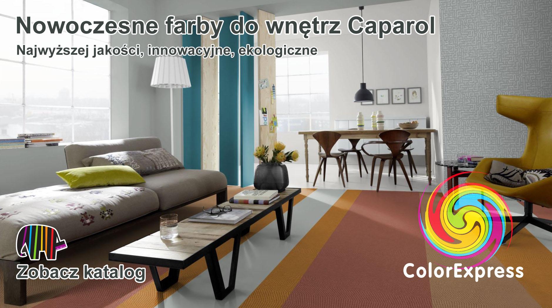 Caparol Nowoczesne farby do wnętrz Dortex Kłodzko